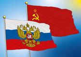 Russia soviet union flag — Vetorial Stock