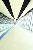 Túnel de aeroporto — Fotografia Stock