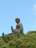 Bronze Buddha statue — Stock Photo