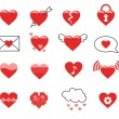 Heart Icons — Stock Vector #30515749