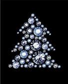 Diamond Tree — ストックベクタ