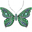Gem Butterfly — Vettoriale Stock #41498313