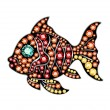 Gem Fish — Vettoriale Stock #41498359