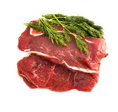 Fresh beef meat isolated — Stock Photo