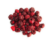 Freeze-dried berries, cherry isolated — Stock Photo