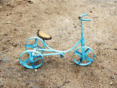 Toy tricycle — Stock Photo