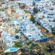 Amazing overall view of Fira village on the island of Santorini in Greece — Stock Photo #27232861