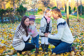 семейные осенние vcation — Стоковое фото