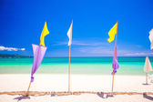 Perfect tropical beach with turquoise water and white sand beaches in Phillipines — Stock Photo