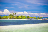 Tropical perfect island Puntod in the Philippines — Stock Photo