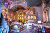 Beautiful Catholic Church in an exotic country indoor — Foto de Stock