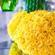 Lovely beautiful flowers in the lobby of a luxury hotel — Stock Photo