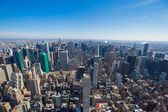 Vew of Manhattan from the Empire State Building, New York — Stock Photo