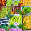 Fruits and vegetables at a farmers market — Stock Photo #51207027