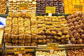 Turkish delights on the market — Stock Photo