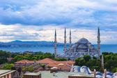 Sultan Ahmet Mosque in Istanbul, Turkey, Sultanahmet district — Stock Photo