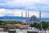 イスタンブール、トルコ、スルタンアフメット地区スルタンアフメットモスク — ストック写真