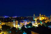イスタンブール、トルコ、スルタンアフメット地区のブルーモスク — ストック写真