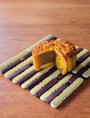 Chinese Mooncake — Stock Photo