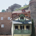 Traditional Georgian urban houses — Stock Photo #25571703