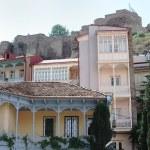 Traditional Georgian urban houses — Stock Photo #25571705