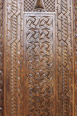 Wooden carved background — Stock Photo