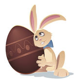 Easterbunny — Stock Vector