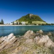 Stock Photo: Mount Maunganui Beach, New Zealand