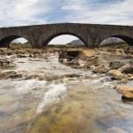 Stone bridge, Sligachan, Isle of Skye , Scotland — Stock Photo #28437381