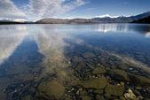 Lake Manapouri, South Island, New Zealand. — Stock Photo