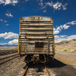 Rusted freight train. — Stock Photo
