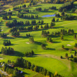 Aerial image of a golf course. — Stock Photo #26057997