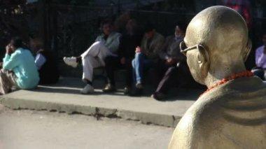 Padre de la nación 3, mohandas karamchand gandhi — Vídeo de Stock