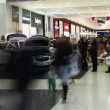 Car in the shopping center — Stock Video
