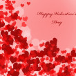 Valentine's day background with hearts — Stock Photo #31189179