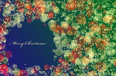 Christmas Background with stars — Stock Photo