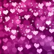 Valentine's background with hearts — Stock Photo #32042073