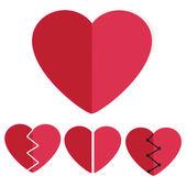 Heart shapes — Stock Photo
