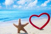 étoile de mer au cœur de l'océan — Photo