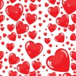 Seamless hearts background — Stock Photo #38536067