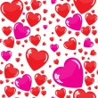 Seamless hearts background — Stock Photo #38536101