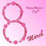 Happy Women's Day background — Stock Photo #39728481