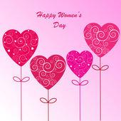 Happy Women's Day background — Foto Stock
