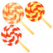 Lollipops background — Stock Photo #41829249
