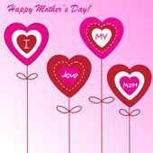Fondo del día de la madre feliz — Foto de Stock