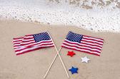 American holidays background — Stock Photo