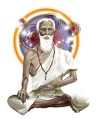 Legendary indian medicine man Jivaka, the Buddha's doctor — Stock Photo