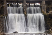 Kuldigas waterfall — Stockfoto