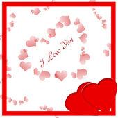 Valentine card — Stockfoto