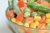 Frozen vegetables — Stockfoto